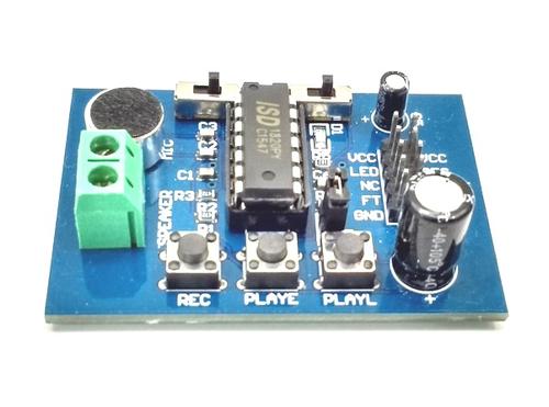 ISD1820 - Voice Recorder