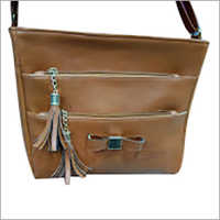 Ladies Double Zipper Bag