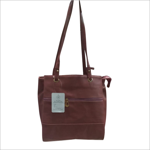 Ladies Leather Fancy Bag