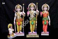Marble Gaura Nitai Deities