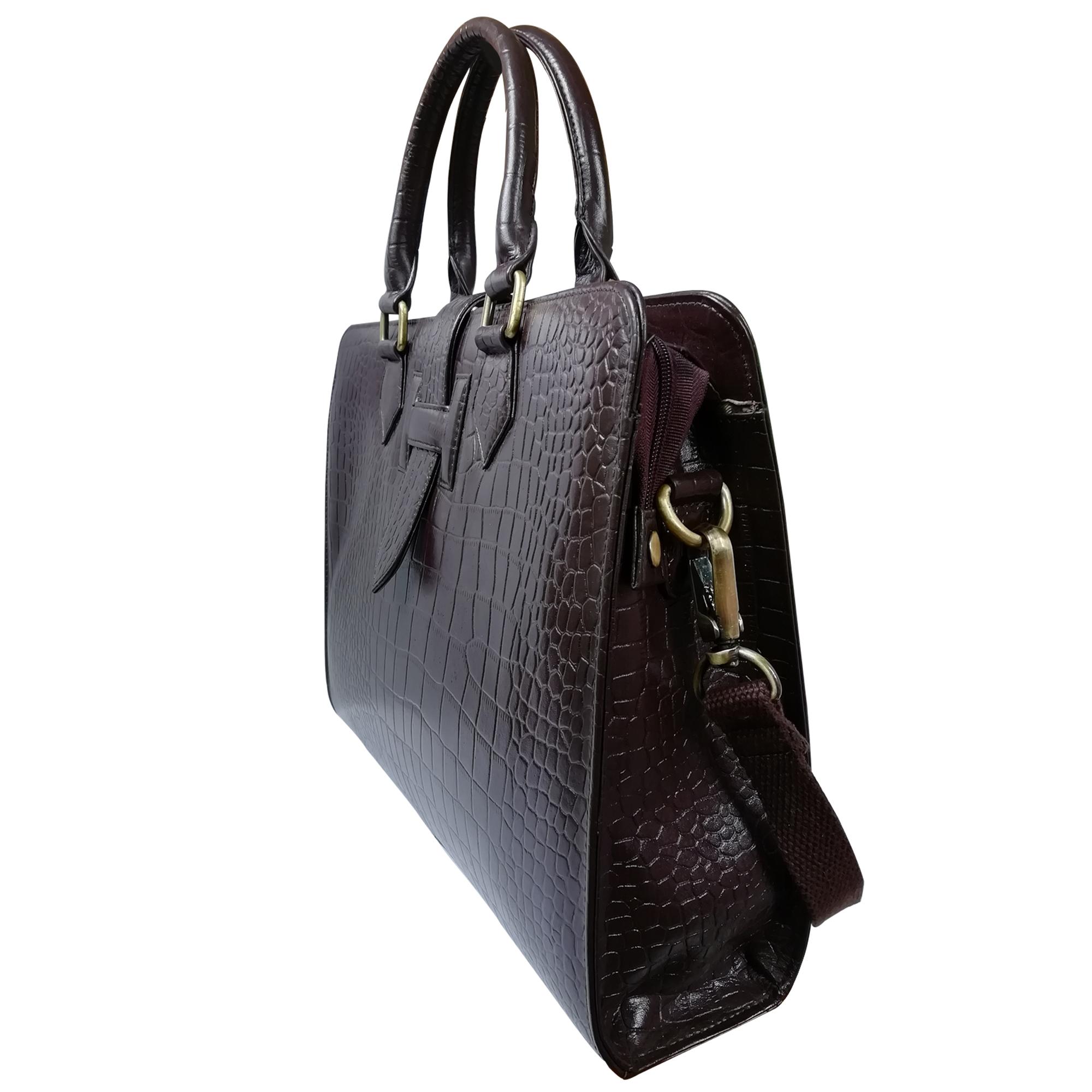 Men Leather Laptop Bag