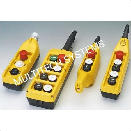 EOT Crane Push Button Pendent Station