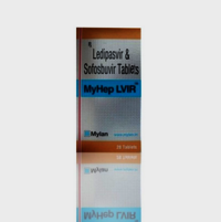 Myhep Lvir Ledipasvir90mg and Sofosbuvir400mg