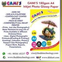 A4 180 GSM inkjet paper manufacturer