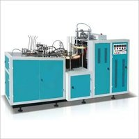 Low Cost Paper Glass Making Machine