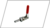Front mouting toggle clamp