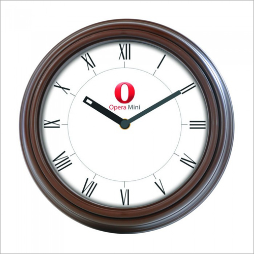 Opera Mini Wall Clock