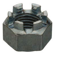 Galvanized Crown Nuts