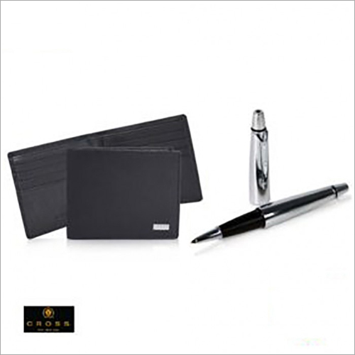 Insignia Slim Wallet + Cross Luxury Agenda Pen