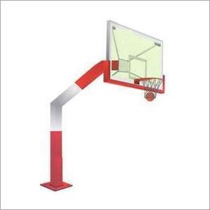 Outdoor Basketball Pole