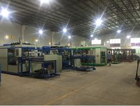 High Speed Plastic Sheet Thermoforming Machine