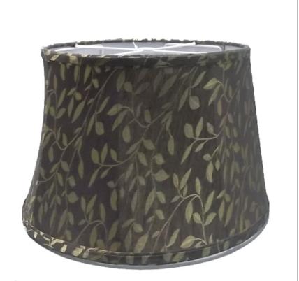 Black Gold Lamp Shade | 24 Inch Drum Lamp Shade | Goodly Light-Gl-Sh017