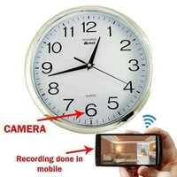 Wallclock Spy Camera