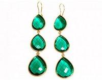 Emerald Gemstone Earrings