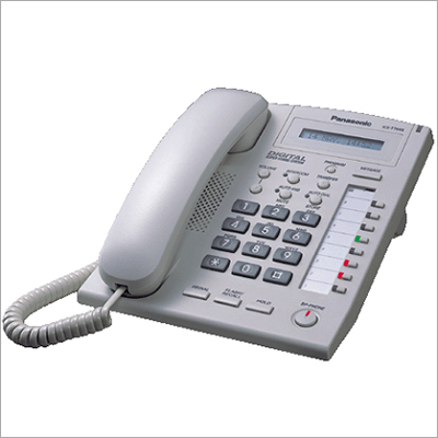 Panasonic KTS White Phone