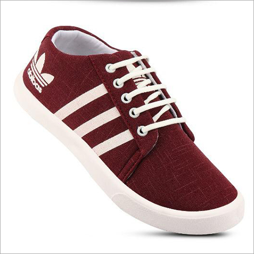 Mens Maroon Sneakers Shoes