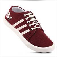 Mens Maroon Sneakers Shoes