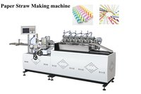 Printed Color Paper Straw Making Machine