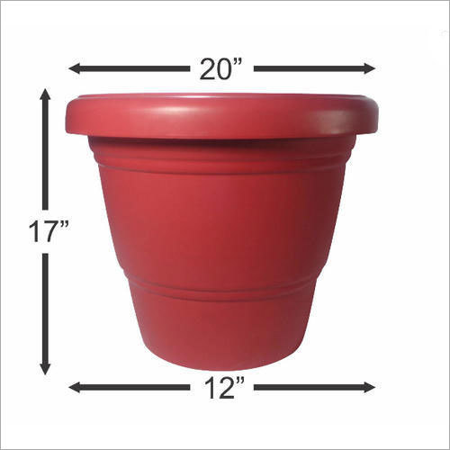 Heavy Duty Plastic Planter