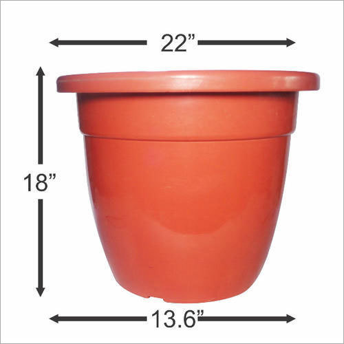 Outdoor Plastic Planter