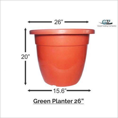 Ready Made Plastic Planter