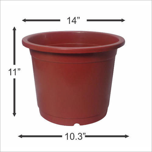 "14"" Plastic Nursery Pot"