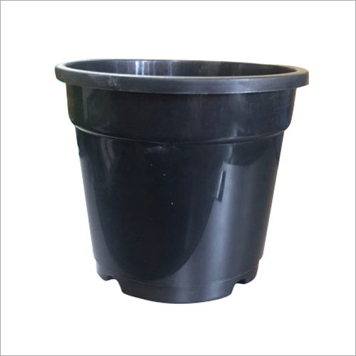 Inch Nursery Pot Black