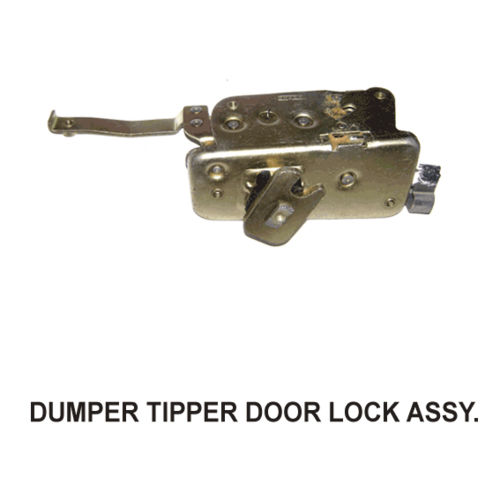 DUMPER/TIPPER DOOR LOCK ASSEMBLY