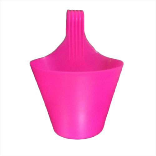 Pink Hook Plastic Pot
