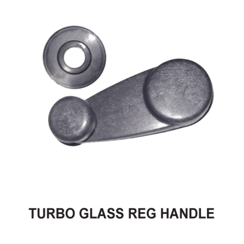 TURBO WINDOW REGULATOR HANDLE GREY