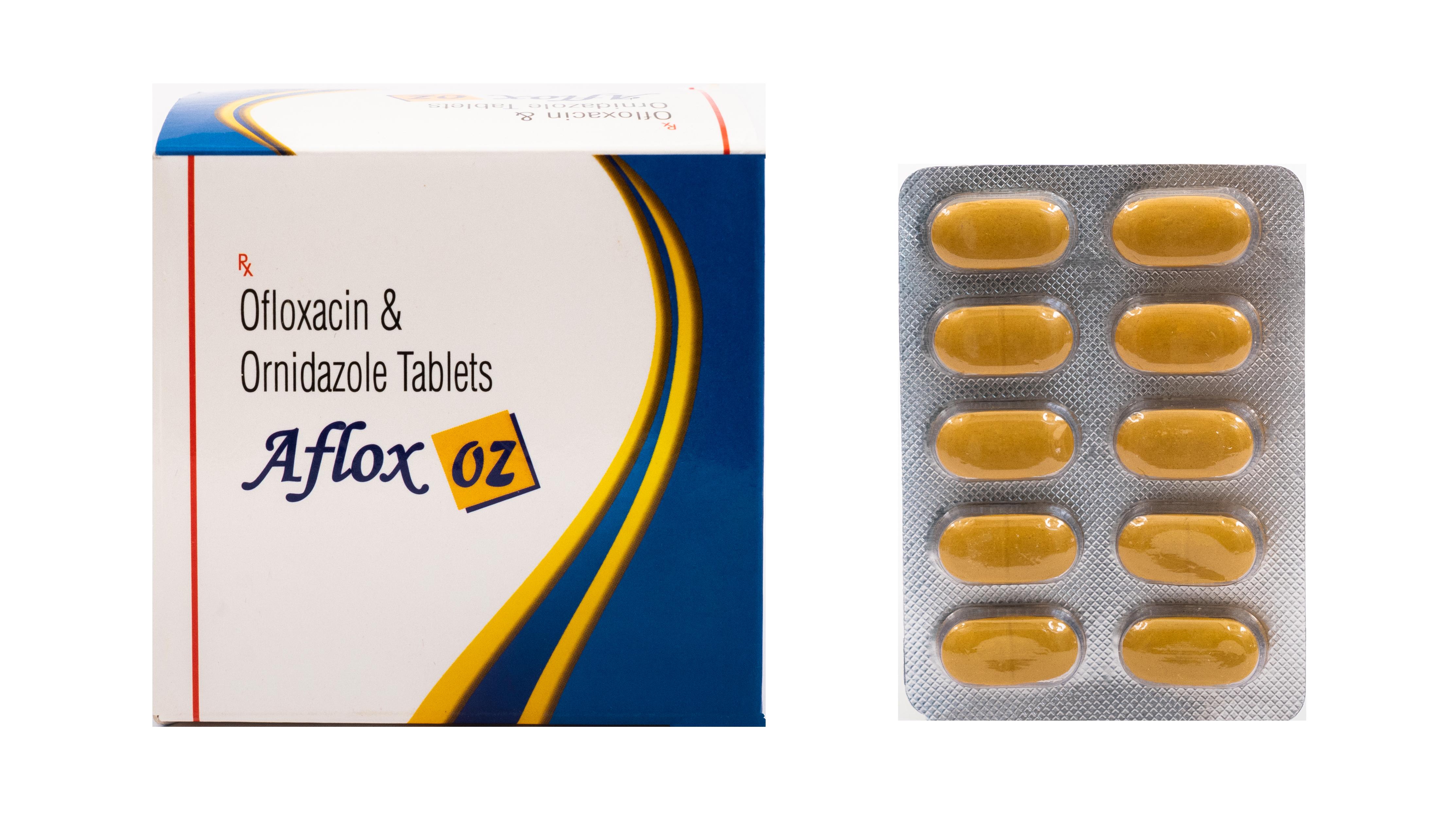 Ofloxacin , Ornidazole Tab
