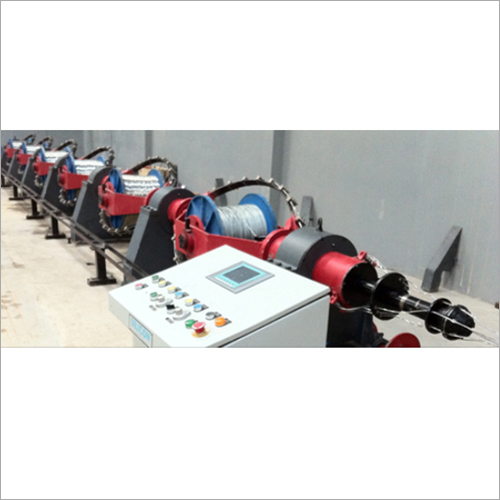 Skip Stranding Machines for Multi Core Cables