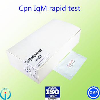 Chlamydia pneumoniae(Cpn)-IgM antibody Cassette
