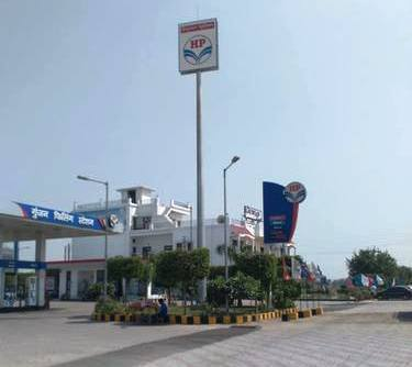 HIGH MAST FOR PETROL PUMP