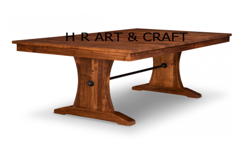 Classic Solidwood Live Edge Dining Table