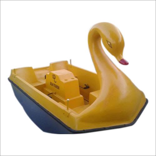 Kids Swan Boat Plain 6 Seater