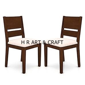 Modern Solidwood Dining Chair With Upholstery