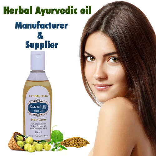 Ayurvedic Herbal Hair Oil - Hair Growth Oil