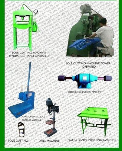 Sole Cutting Machine Plant