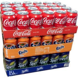 COCA COLA ORIGINAL CAN SLIM 330ml