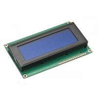 LCD DISPLAY 20X4 with Blue Backlight RG2004