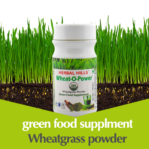 Organic Wheatgrass Powder - Green Food Supplement