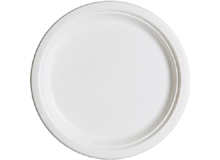 Bagasse round plates