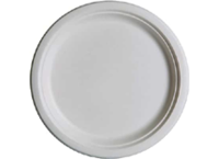 Bagasse round plates