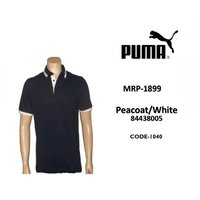 Puma Tshirt Polo Black/White