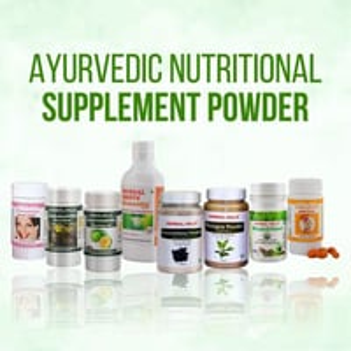 Herbal Ayurvedic Dietary Nutritional Supplements