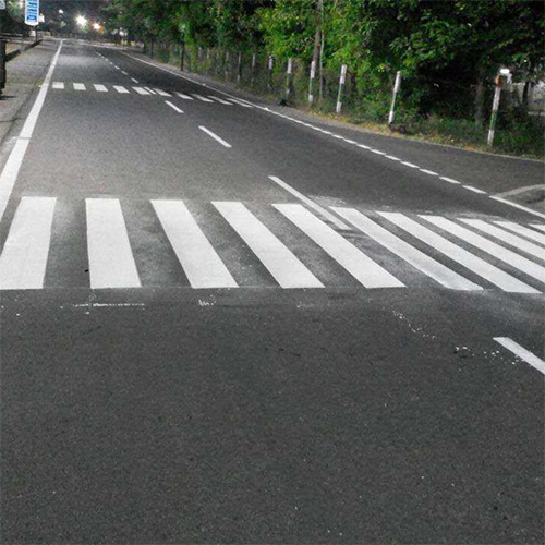 White Thermoplastic Road Zebra Crossing Paint
