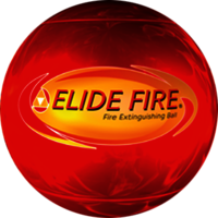 ELIDE FIRE BALL EXTINGUISHER.