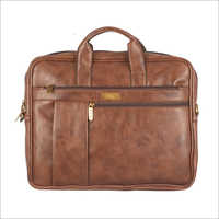 Mens Leather Executive Laptop Bag