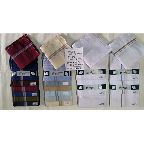 Multi Color Mens Handkerchief